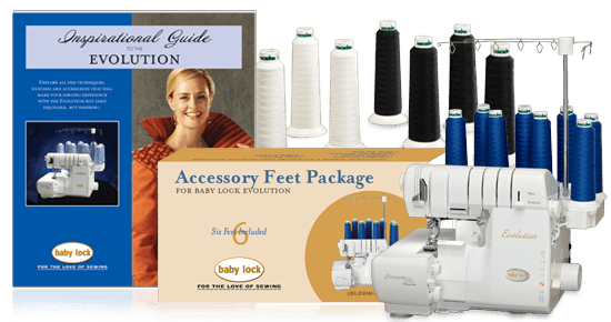 Baby Lock Serger Bundle